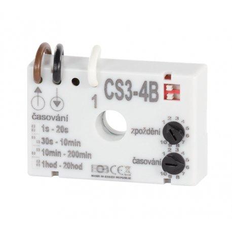 Wyłącznik czasowy Elektrobock CS3-4B do opóźnionego włączania wentylatorów