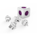 Rozgałęźnik PowerCube ReWirable z wtyczkami podróżnymi EU, UK, US, AU - 5 x 230 V
