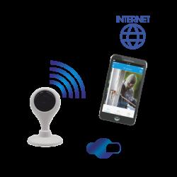 Kamera monitorująca IP ORNO OR-MT-GV-1808 z WiFi wewnętrzna, mini