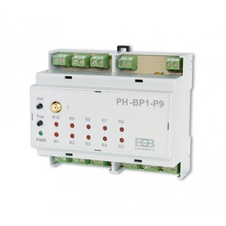 9 kanałowy odbiornik do ogrzewania podłogowego Elektrobock PH-BP1-P9