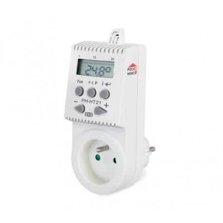 Termostat do siłowników termoelektrycznych Elektrobock PH-HT21 - bezprzewodowy