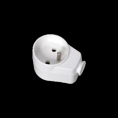 Gniazdo wtyczkowe 2P+Z z podstawką magnetyczną AWA-GKM