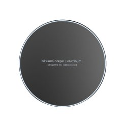 Ładowarka indukcyjna WirelessCharger Aluminium 10 Wat