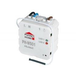 Odbiornik - włącznik Elektrobock PH-WS01 - do puszki