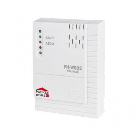 Odbiornik - włącznik Elektrobock PH-WS02 - naścienny