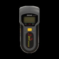 Detektor przewodów, metalu i drewna 3 w 1 ORNO OR-AE-13116 podświetlany LCD