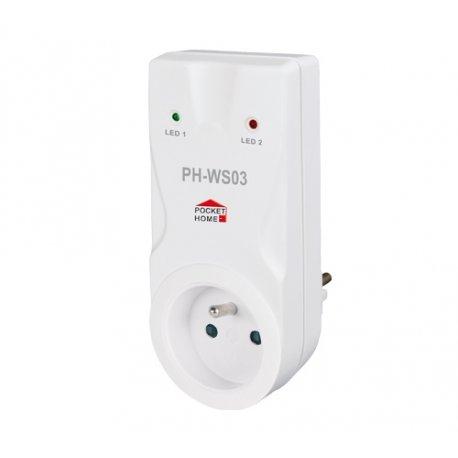 Odbiornik - włącznik Elektrobock PH-WS03 - gniazdkowy
