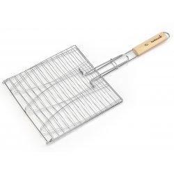 Kosz do jednoczesnego grillowania 3 ryb Barbecook - 28,0 x 28,0 cm