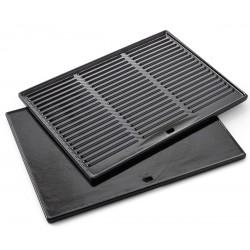 Płyta żeliwna prostokątna Barbecook do grillowania i smażenia - 43 x 35 cm