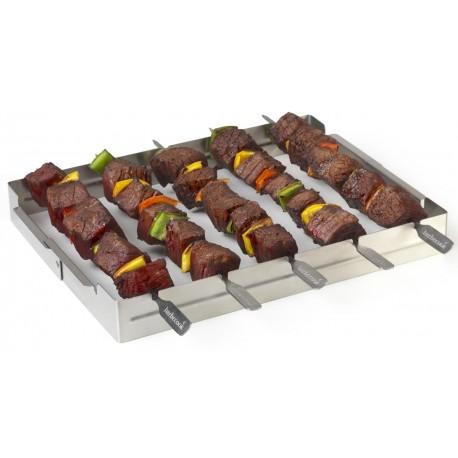 Zestaw do grillowania szaszłyków Barbecook - do 5 szt.