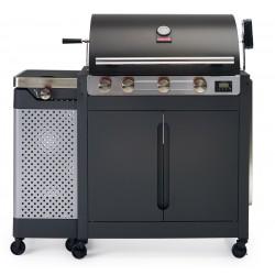 Grill gazowy z rożnem Barbecook Quisson 4000 - 3 + 1 palnik