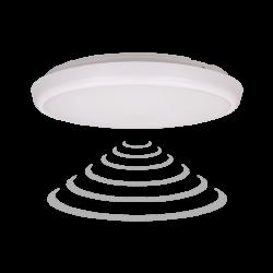Plafon LED ORNO CERS OR-PL-6113WLPMM4, 16W, 4000K z mikrofalowym czujnikiem ruchu