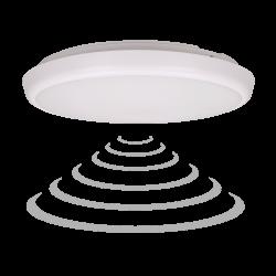 Plafon LED ORNO CERS OR-PL-6091WLPMM4, 22W, 4000K z mikrofalowym czujnikiem ruchu