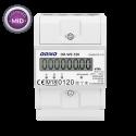 Licznik zużycia energii elektrycznej 3-fazowy 80 A ORNO OR-WE-520 - certyfikat MID