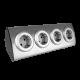 Gniazdo meblowe 4 x 230 V INOX - ORNO OR-AE-1340(GS) - schuko