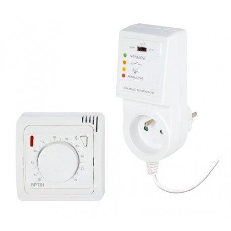 Termostat Elektrobock BPT013 z pokrętłem - bezprzewodowy