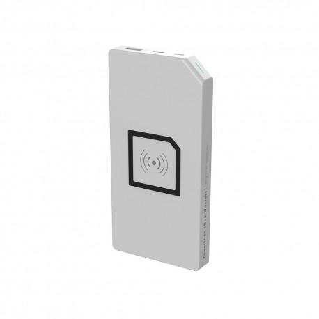 PowerBank Duo-Wireless Allocacoc, ładowanie indukcyjne, pojemności 8000 mAh