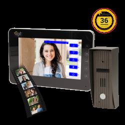 Wideodomofon przewodowy z pamięcią ORNO TURRIS MEMO 7˝ - dotykowy - OR-VID-AR-1031