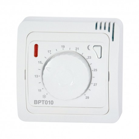 Termostat regulowany pokrętłem Elektrobock BT010 - bezprzewodowy