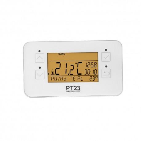 Termostat programowalny Elektrobock PT23 - przewodowy