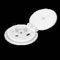 Gniazda do blatu 230 V z ładowarką indukcyjną i USB - ORNO OR-GM-9011 modułowe - 2 kolory