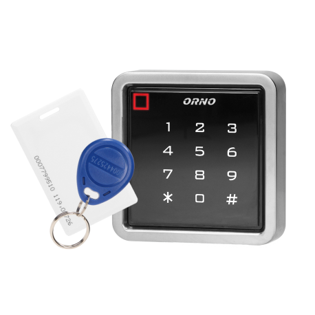Zamek szyfrowy z PIN i czytnikiem kart i breloków zbliżeniowych ORNO OR-ZS-816 IP68