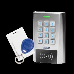 Zamek szyfrowy z PIN i czytnikiem kart i breloków zbliżeniowych ORNO OR-ZS-817 2 wyjścia. IP66