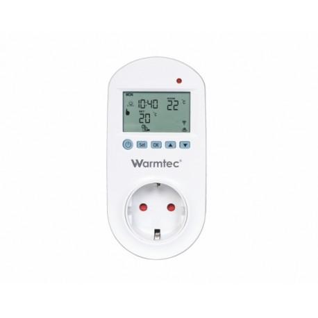 Termostat gniazdkowy Warmtec GRT-01 z Wi-Fi i programatorem tygodniowym