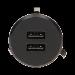 Przewodowa ładowarka USB wpuszczana w blat z zasilaczem