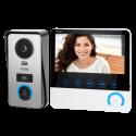 Wideodomofon przewodowy VIRONE CETI VDP-60 7˝ czytniki kart, nagrywanie filmów i zdjęć