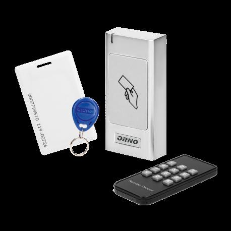 Czytnik kart i breloków zbliżeniowych ORNO OR-ZS-821, IP66, metalowa obudowa