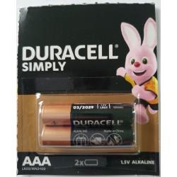 Baterie Duracell AAA / LR03 / 1,5 V - alkaliczne - 4 szt.