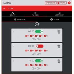 Termostat gniazdkowy Elektrobock TS11 WiFi Therm sterowane aplikacjami Android i iOS