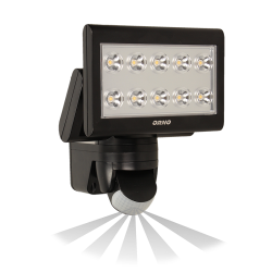 Naświetlacz SCIROCCO LED 25 W ORNO OR-NL-348BLPPR4 z czujnikiem ruchu, 1400lm - czarny