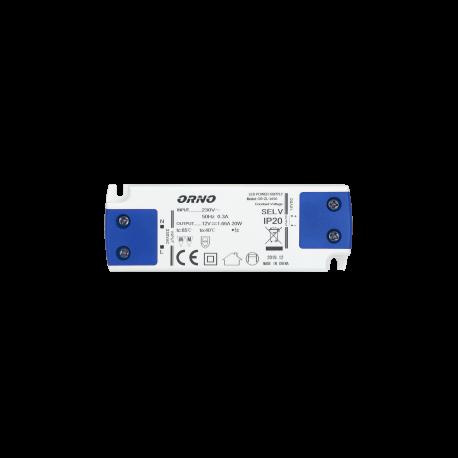 Zasilacz do LED 12 V ORNO OR-ZL-1650 płaski, 15W, IP20