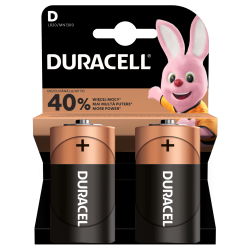 Baterie Duracell D / LR20 / 1,5 V - alkaliczne - 2 szt.