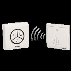 Bezprzewodowy dzwonek bezbateryjny ORNO SMARTEK AC OR-DB-LT-126 - sieciowy gniazdkowy