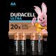 Baterie Duracell AA / LR6 / 1,5 V - alkaliczne - 4 szt.