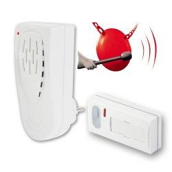 Bezprzewodowy dzwonek Elektrobock BZ911 do pomieszczeń o dużym hałasie