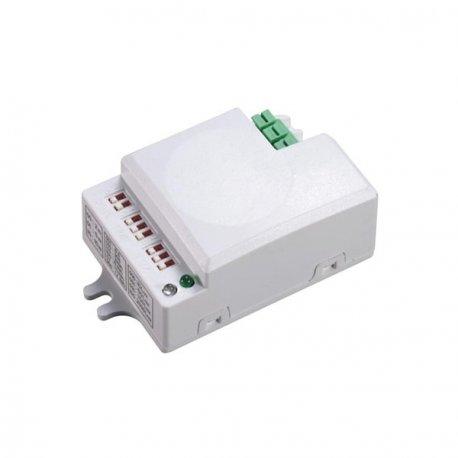 Mikrofalowy czujnik ruchu ORNO OR-CR-229 - 360° / 500 W - mini rozmiar, regulacja zworkami