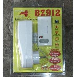 Bezprzewodowy dzwonek - syrena Elektrobock BZ912 o dużym zasięgu