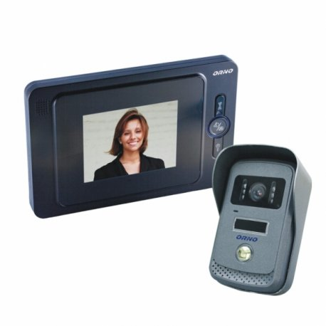 Videodomofon przewodowy ORNO EQUES 4˝ - OR-VID-JS-1021