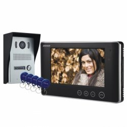 Wideodomofon przewodowy ORNO ARX N 7˝ - natynkowy, dotykowy - OR-VID-VP-1028