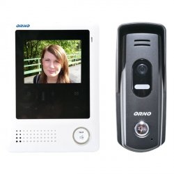 Videodomofon przewodowy ORNO VIA 4˝ - dotykowy - OR-VID-VT-1027
