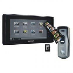 Wideodomofon przewodowy z pamięcią ORNO DEFENSA MEMO 7˝ - dotykowy, natynkowy - OR-VID-VT-1030