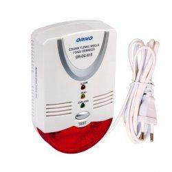 Czujnik tlenku węgla i gazu ziemnego ORNO OR-DC-615 - sieciowy 230 V
