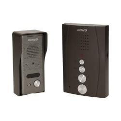 Domofon jednorodzinny głośnomówiący, natynkowy ORNO ELUVIO OR-DOM-RE-914/B, czarny