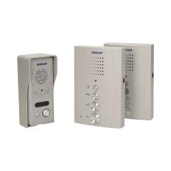Domofon jednorodzinny głośnomówiący z interkomem, natynkowy ORNO ELUVIO INTERCOM OR-DOM-RE-920/G, szary