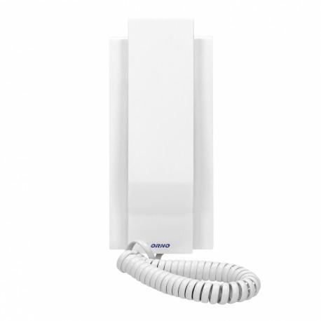 Unifon do rozbudowy domofonów ORNO AVIOR, ORNO OR-DOM-JA-928UD/W, biały