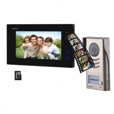 Wideodomofon przewodowy z pamięcią ORNO RAIS MEMO 7˝ - dotykowy, natynkowy - OR-VID-DT-1038